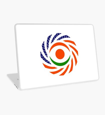 Niger American Multinational Patriot Flag Series Laptop Skin