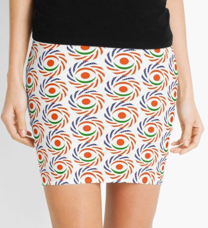 Niger American Multinational Patriot Flag Series Mini Skirt