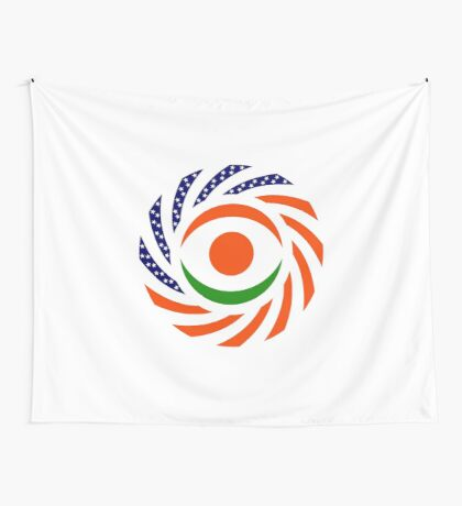Niger American Multinational Patriot Flag Series Wall Tapestry
