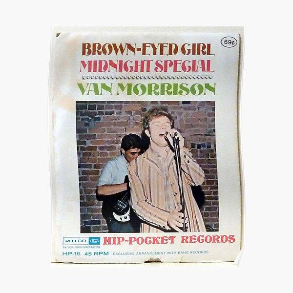 Van Morrison Into the Mystic Print//Poster Minimalist Design