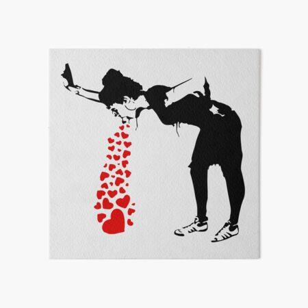 Lovesick - Banksy, Streetart Street Art, Grafitti, Artwork, Design For Men, Women, Kids Art Board Print