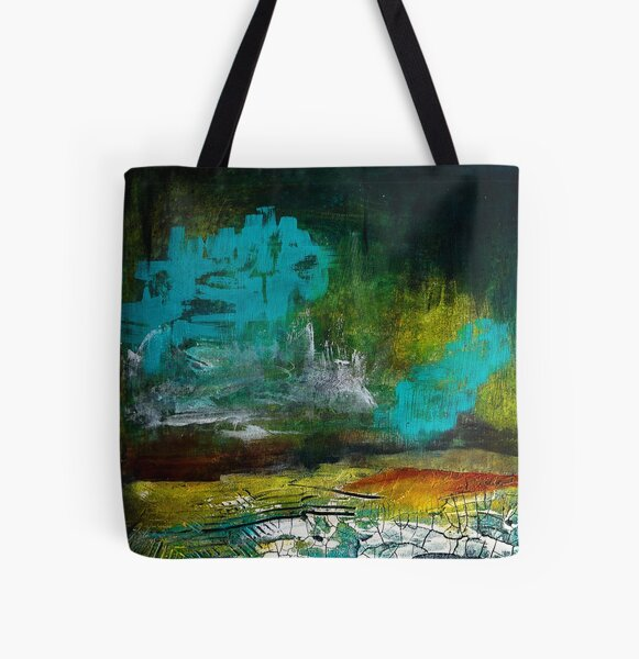 Storm Clouds All Over Print Tote Bag