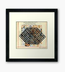 MATRIX PATTERN Framed Print