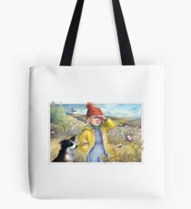 Little Bo Peep - A welsh take on the children's rhyme Tote Bag