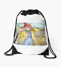 Little Bo Peep - A welsh take on the children's rhyme Drawstring Bag