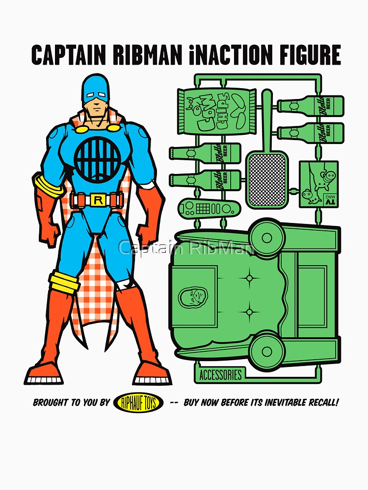Captain RibMan InAction Figure by RibMan
