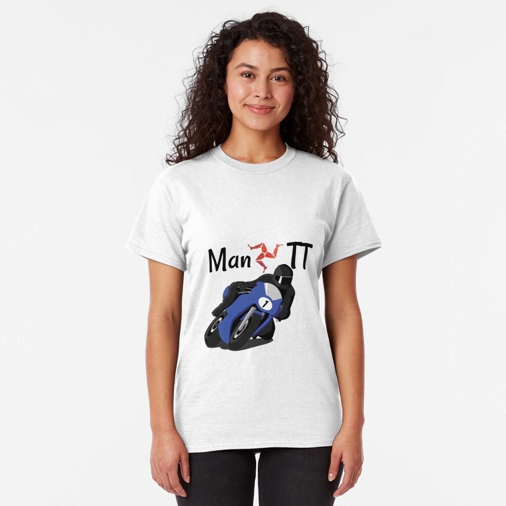 Isle of Man Manx TT Racer Classic T-Shirt