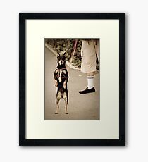 OnePhotoPerDay Series: 187 by L. Framed Print