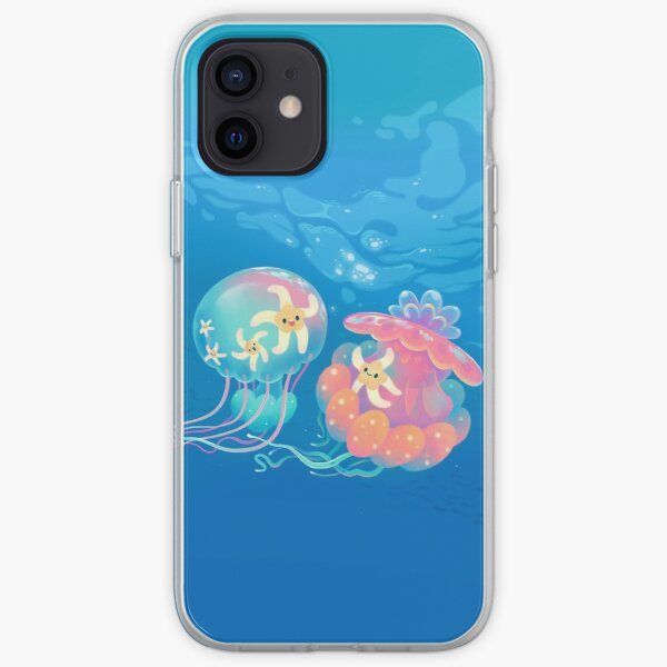 Jellyfish bus iPhone Soft Case