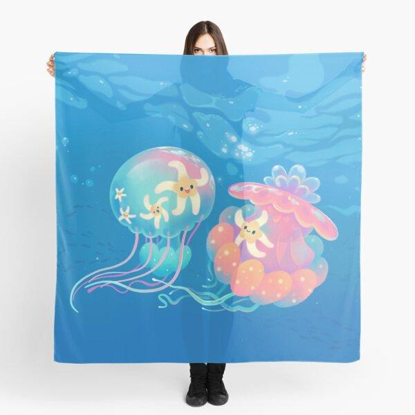 Jellyfish bus Scarf