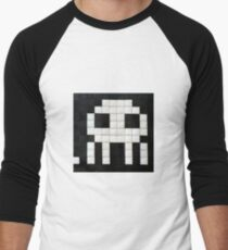 Space invader  Men's Baseball ¾ T-Shirt