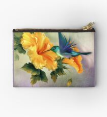 Tiny Wings Zipper Pouch