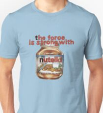 The force is strong with nutella T-Shirt