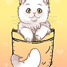Pocket Cute Persian Cat Kitten by TechraNova