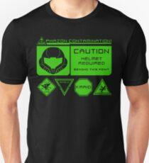 Cosmic Caution Unisex T-Shirt