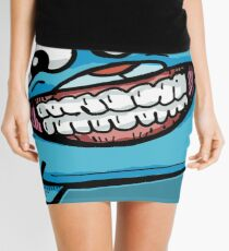 Gumball Watterson from The Amazing World of Gumball™ with a Funny Cheesy Smile Mini Skirt