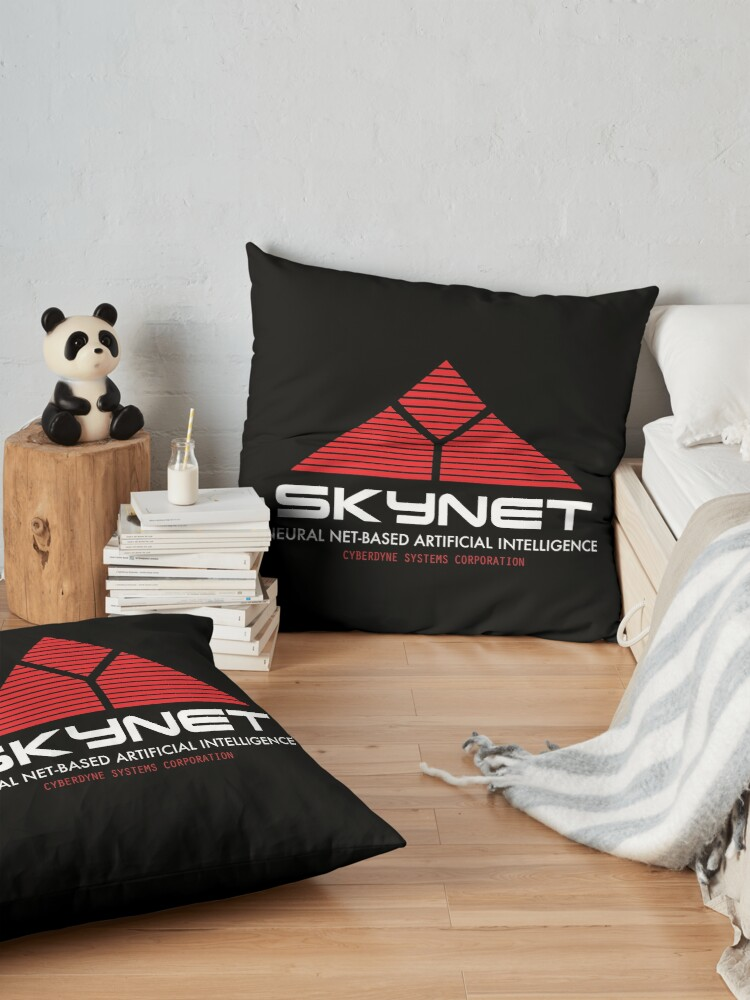 Alternate view of Skynet Cyberdyne Systems Corporation Floor Pillow