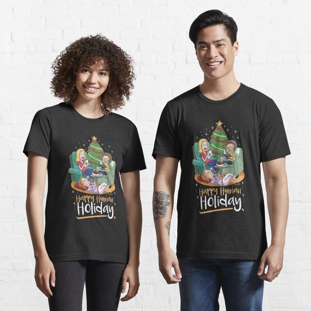 Christmas Happy Human Holiday Essential T-Shirt