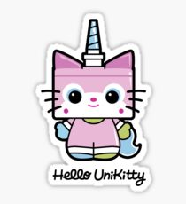 Hello Unikitty Sticker