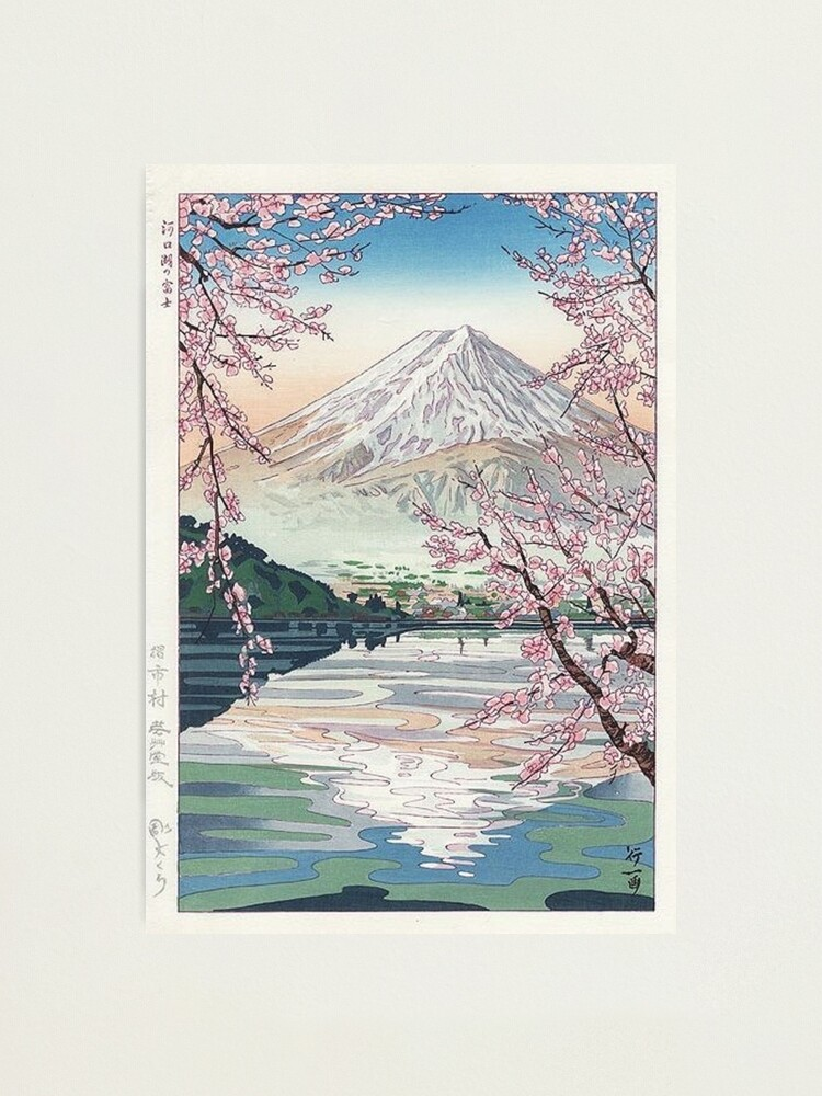 Alternate view of Mount Fuji Cherry Blossom Photographic Print