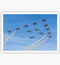 Red Arrows and Eagle Squadron Team Sticker