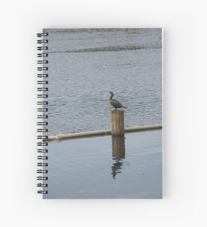 Bird on the Water Spiral Notebook
