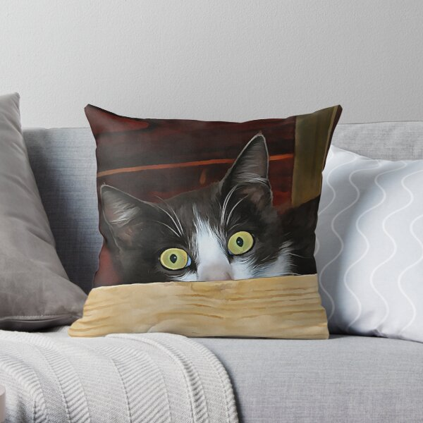 What No Mice? Throw Pillow