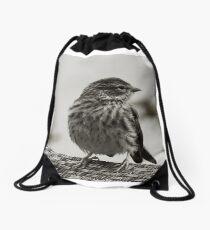Oiseaux Drawstring Bag