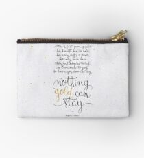 Nothing gold can stay Studio Pouch