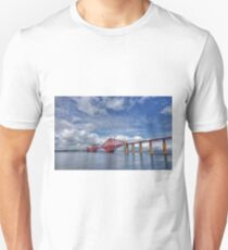 Forth Bridge, South Queensferry, Scotland T-Shirt
