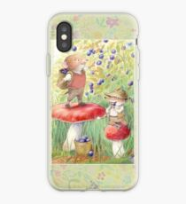 Bilberry Picking iPhone Case