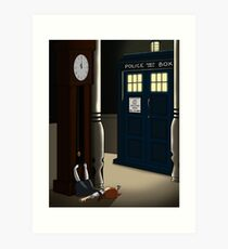 Do You Want To Meet a Time Lord? Art Print
