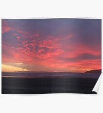 Kapiti Sunset Poster