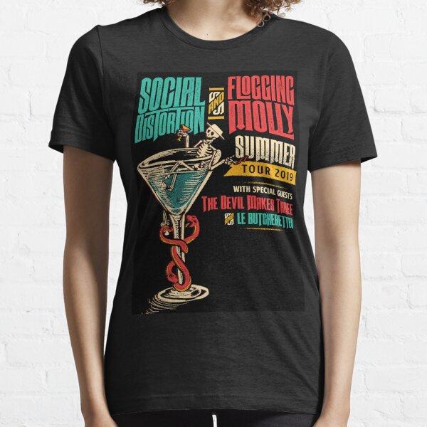 social flogging tour 2019 hitammuda molly distortion Essential T-Shirt