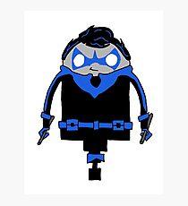 Nightwing(ing) it Photographic Print