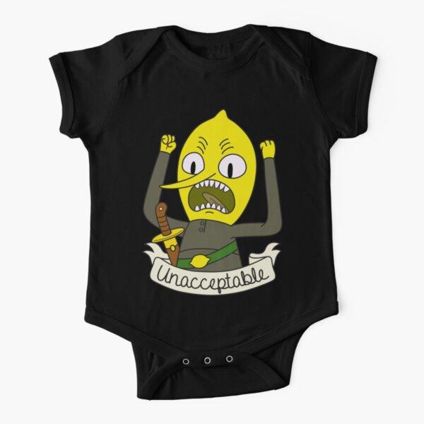 Lemongrab Short Sleeve Baby One-Piece