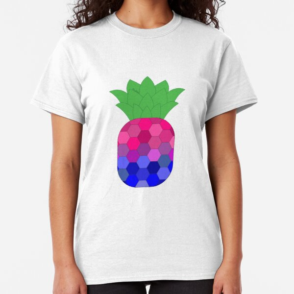 Bi-neapple > Bi Pineapple | Queer Fruit Collection Classic T-Shirt