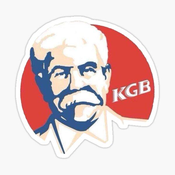 KFC KGB Colonel Stalin Sticker