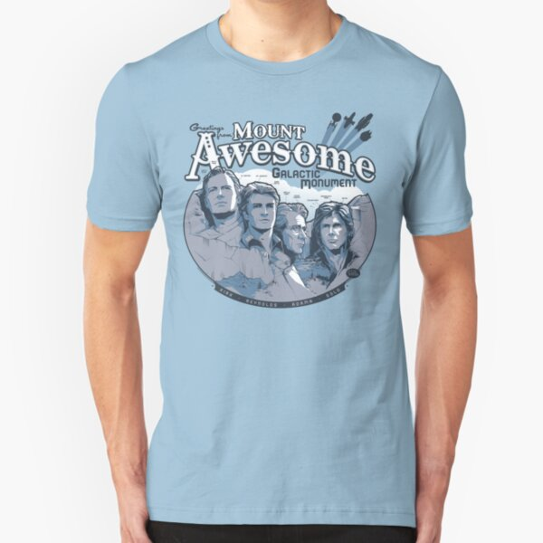 Mt. Awesome Slim Fit T-Shirt