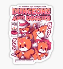 Dungeon and Doggies Glossy Sticker