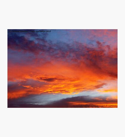 The Heavens Declare Photographic Print