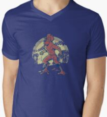 WereRooster Men's V-Neck T-Shirt