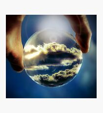 Lámina fotográfica Cloud 9 - vista de lensball