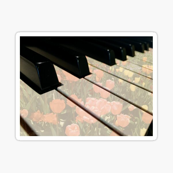 Spring Time in the Studio by Jerald Simon (Music Motivation - musicmotivation.com) Sticker