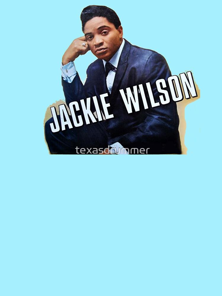 Jackie Wilson by texasdrummer