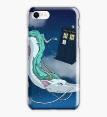 Spirited Away with the Doctor iPhone Case/Skin