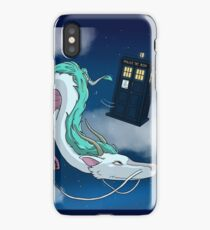 Spirited Away with the Doctor iPhone Case
