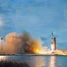 Doppel Start Saturn V von coolArtGermany