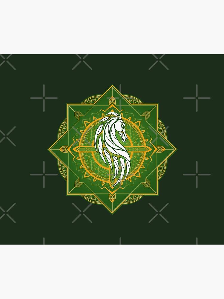 Rider of Rohan (Heraldic Colours) by njonestees