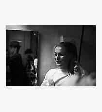 Random performer at Sedition 1983 Photographic Print